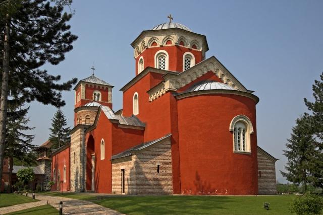 manastir Žiča nadomak kraljeva - Duhovni turizam u Srbiji