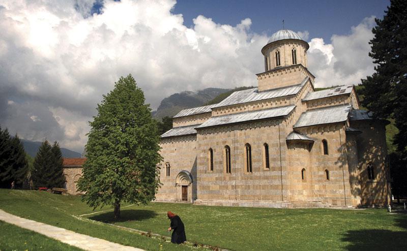 manastir dečani na kosovi i metohiji - srpske svetinje