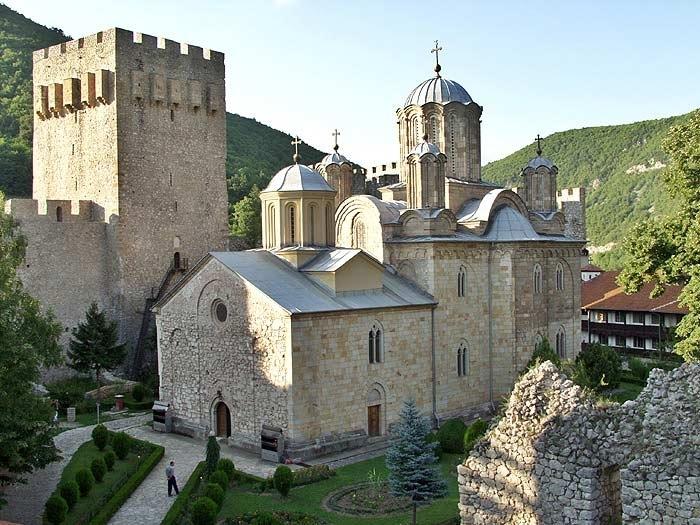 srpski manastiri - manastir manasija