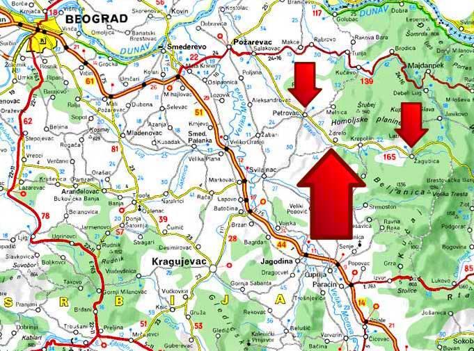 banja zdrelo mapa Banja Ždrelo | Turizam u Srbiji banja zdrelo mapa