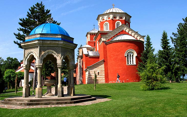 manastiri srbija